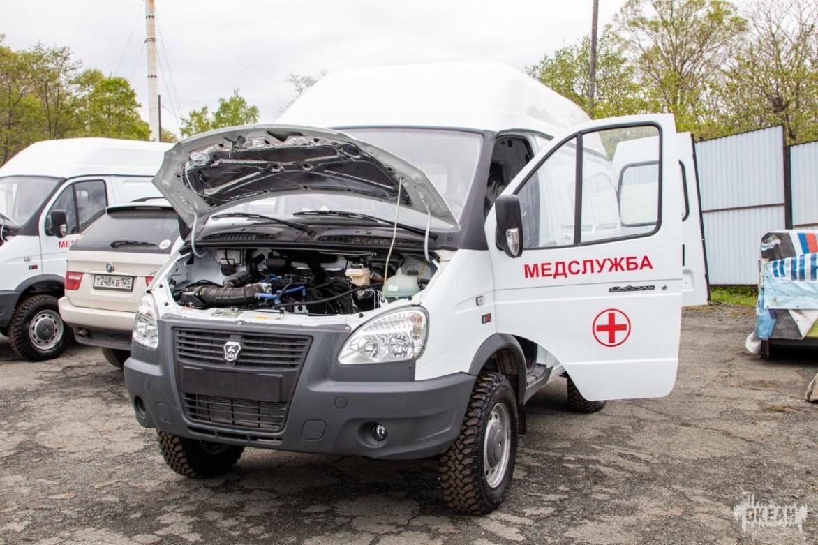 ВДЦ «Океан» пополнился двумя новыми автомобилями для медслужбы