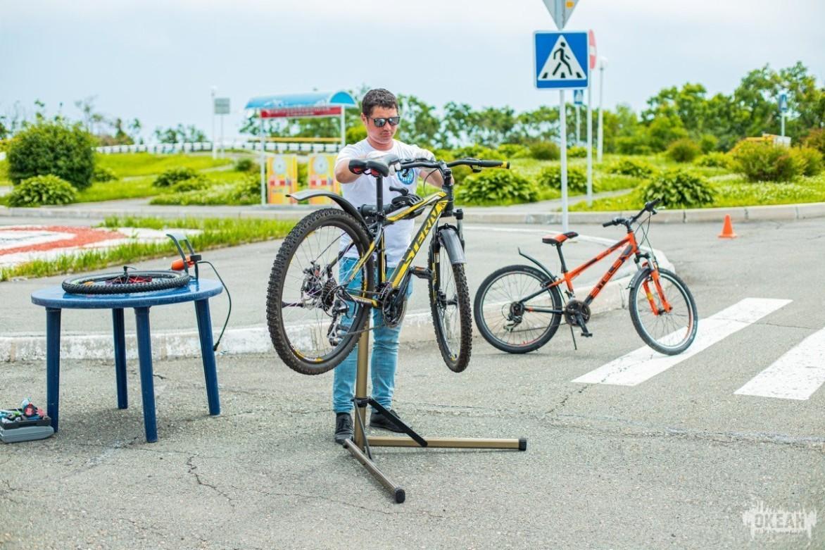 Мастер-класс «Подготовка велосипеда»
