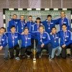 Церемония награждения призёров первенства г.Владивостока по мини-футболу (5 лига)