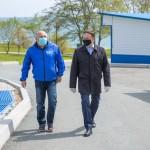 Визит председателя Законодательного Собрания Приморского края Александра Ролика