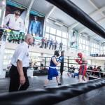 Товарищеский матч между боксёрами из Японии и сборной Приморья