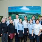 Занятие по правилам дорожного движения на компьютерных тренажёрах для учащиеся кадетского класса Гимназии №2 г. Владивостока
