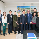 Визит делегации Кимирсенско-Кимченирского союза молодёжи КНДР