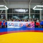 Открытие детской спортивной секции самбо